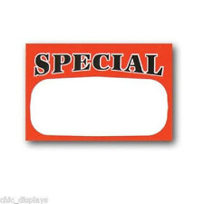 500 pcs Special Retail Store Special Price Signs/Tags