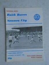 Raith Rovers v Swansea City 1982 Donald Urquhart Testimonial