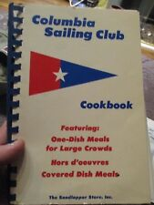 1975 Columbia Sailing Club Cookbook - Columbia, SC