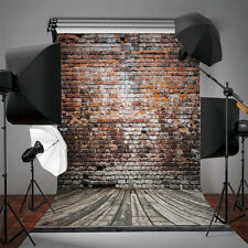 5x7Ft Retro Vinyl Brick Wall Background Studio Photography Photo Props Backdrops