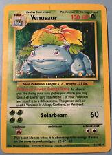 Base Set Venusaur Holo Rare 1999 Pokemon #15/102