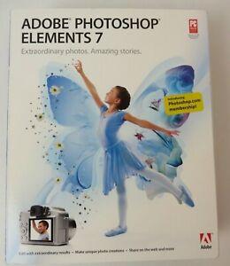 Adobe Photoshop Elements 7 Software #4112