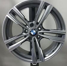 """Cerchi in lega BMW M3 M4 serie X1 1 3 4 z3 z4 da 18"""" Bicolore M Sport doppia mis"""