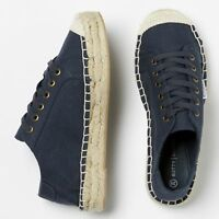 Betty Basics Voyage Espadrille Sneaker in Navy