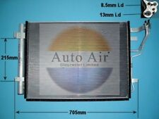 Fit with HYUNDAI i30 Condenser air conditioning 16-1096 1.4L