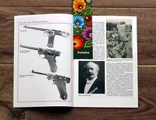 PISTOL LUGER P08 PARABELLUM ** history & development