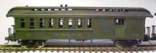HOn3 D&RGW #212(and others) Combine Baggage/Passenger Car, laser wood MRGS#3212