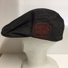 Southern Comfort Cap Hat Old Man Newsboy Style 100% Cotton One Size Fits All