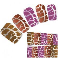 Tattoo Nail Art Aufkleber Muster Sticker Leopard Water Decall Neu!