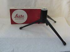 Leitz 14100 table top TRIPOD for Leica camera Original Box Pre-owned
