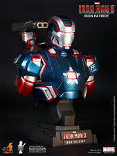 Hot Toys Iron Man 3 - IRON PATRIOT 1/4 Scale Collectible Action Figure Bust