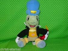 "Disney JIMINY CRICKET Snap Bean Bag Plush Stuffed Animal Pinocchio 10"" tall"