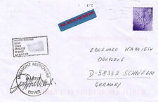 GB / IRISH FERRY MV MIDNIGHT MERCHANT A SHIPS CACHED MASTER SIGNED COVER