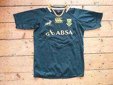large SOUTH AFRICA Rugby Shirt  Trikot Maroc Maillot Domicile Sprinboks