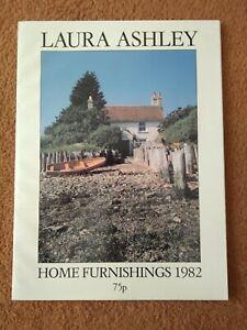 Vintage Laura Ashley Home Furnishings 1982 Catalogue