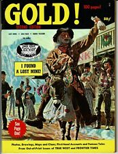 GOLD !  True West Magazine  #1 Annual Vol 2  2nd Edition 1970  100 page