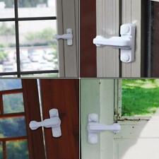 Qty 10 White Universal Window Staylocks HB-USLWX5 /& Key Locks