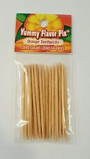 Flavored Toothpicks by Yummy Flavored Pix-Orange