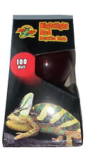 Zoo Med Reptile Red Night Light Heat Lamp Bulb 100 w