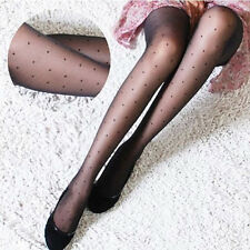 2016 Hot Sexy women sheer Lace Small dot Pantyhose Stockings Tight Slim Stocking