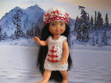 shelly kelly barbie tommy Puppenkleider Weihnachten Handarbeit Geschenke