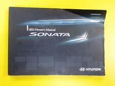 Sonata 11 2011 Hyundai Owner's Owners Manual OEM Genuine