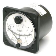 Crompton / Tyco 077-16CU-LSLS-NO 0-5/6 Amps AC Ammeter