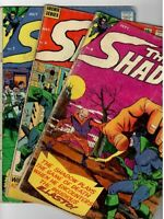 🚚 The Shadow # 6,7 & 8  Archie Series 1965 Silver-Age 12c Comics in VG-