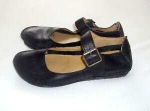 Clarks Originals Soft Leather Shoes, Black Mary Jane Style, Size 5 D