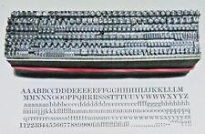 12 point SCOTCH ROMAN 3A Letterpress Metal Printing Type