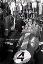 Jim Clark Gold Leaf Team Lotus 49 South African Grand Prix 1968 Photograph 1