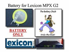 Battery for Lexicon MPX G2 Guitar Effects - Internal Memory Replacement Battery