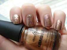 China Glaze Crackle CRACKED MEDALLION 80762 (14ml) New: Freepost Australia