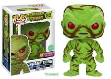 2016 SDCC Funko POP! SWAMP THING FLOCKED SCENTED Vinyl Figure MIB!