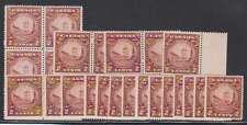 B7545: (30) Canada #210 Mint, OG, VF, NH; CV $180