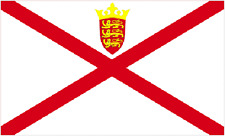 jersey flag 5ft x 3 ft the Bailiwick of Jersey Channel Islands united kingdom