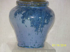 *Rafco Fulper* Antique Crystalline Ice Blue Glaze Art Pottery Vase