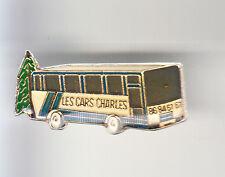 RARE PINS PIN'S .. CAMION TRUCK AUTOBUS AUTOCAR BUS COACH CHARLES DUN 58 ~B3
