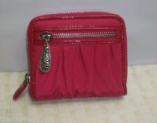 NWT BRIGHTON WALLET PINK WITH PATENT LEATHER ACCENTS