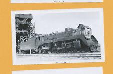 Canadian Pacific 4-6-2 Steam Locomotive #2451 - B&W Railroad Photo