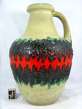 "Beautiful 70´s design Bay Keramik "" Fat Lava "" floor vase / Boden Vase 67  45"