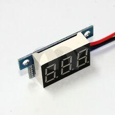 Mini DC 0-200V 3-Wire Voltmeter Red LED Display Volt Meter Digital Panel Meter
