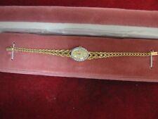 Ladies 14K Yellow Gold Wristwatch - Rope Style