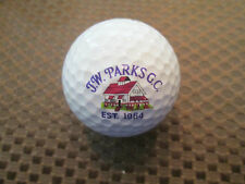 LOGO GOLF BALL-J.W. PARKS GOLF COURSE.....MAINE......COLORFUL LOGO