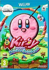 Kirby And The Rainbow Paintbrush Nintendo WII U Video Game Original UK Release