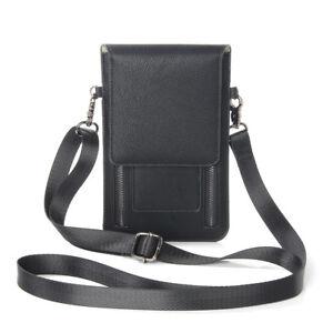 Leather Purse Zipper Shoulder Bag Case For iPhone 7 8 Samsung S8 Huawei Redmi 4X