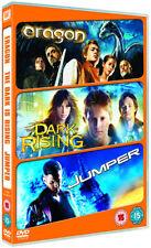3 FANTASY ADVENTURE FILMS = ERAGON / JUMPER / THE DARK IS RISING = 3 DVD SET