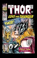 Marvel Comics Thor Love And Thunder 11x17 Litho By Adam Hughes And Scott James