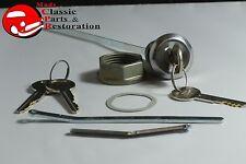 73-89 Chrysler Dodge Plymouth Duster Challenger Trunk Lock Keys w/Logo