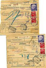 Posten Paketkarten - Heuss Belege ( 33523 )